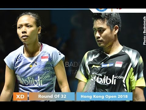 Wow Tontowi /Della dipasangkan di Hong Kong Open 2018 | Players List Mp3