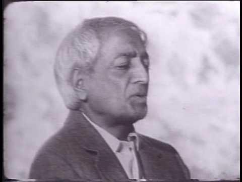 Jiddu Krishnamurti - The Real Revolution - Freedom from Fear - 1of3