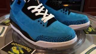 air jordan III powder blue