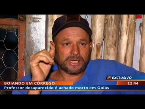 DF ALERTA - Professor desaparecido é achado morto em Goiás