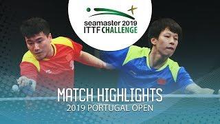 Lin Gaoyuan vs Liang Jingkun | 2019 ITTF Challenge Plus Portugal Open Highlights (Final)