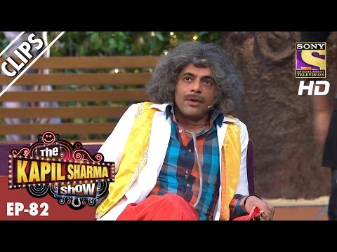 Dr. Gulati's Bhangra dance and cricket fun with Gurdas Maan – The Kapil Sharma Show - 12th Feb 2017