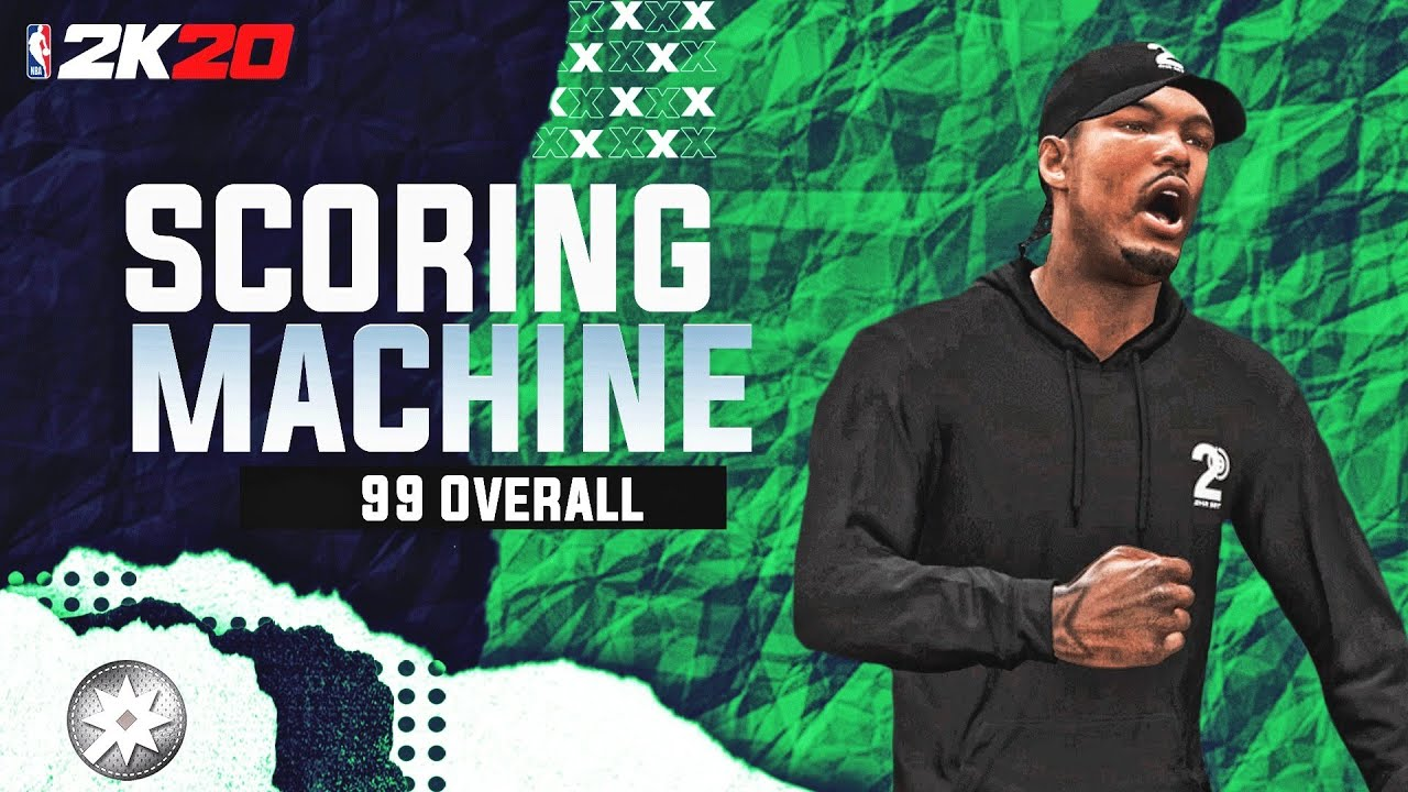 The SCORING MACHINE Build Is The Most UNDERRATED Build In NBA 2K20!