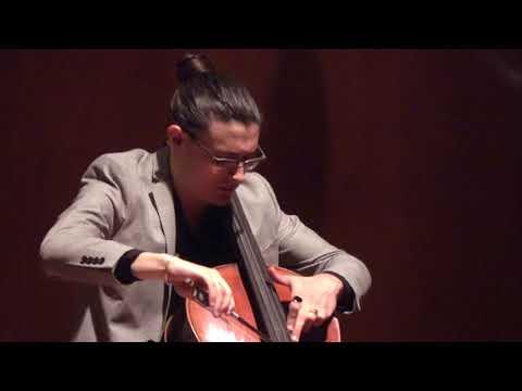 Z. Kodály, Cello Solo Sonata, Op  8 (Complete) LIVE: Santiago Cañón Valencia