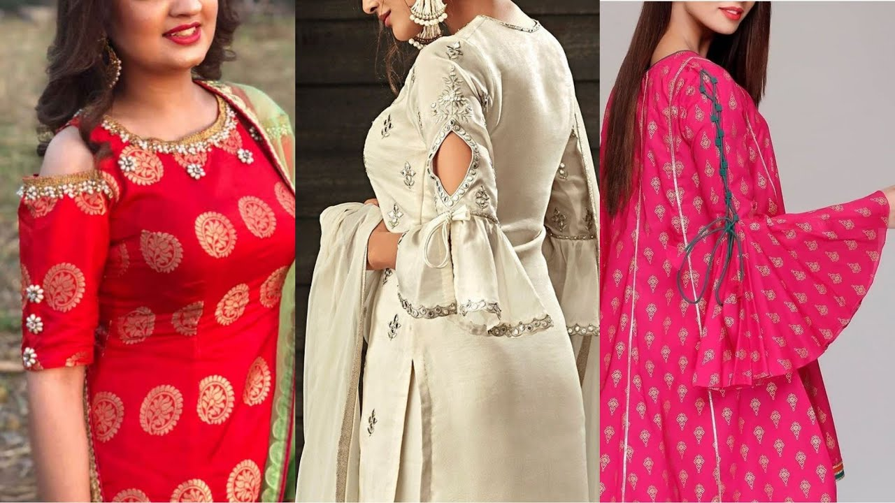 New Sleeves Design For Kurti || Beautiful Sleeves Design Collection 2020
