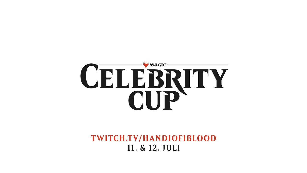 Der Magic Celebrity Cup   MAGIC THE GATHERING