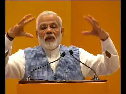 PM Modi addresses CEOs and Start ups at Pravasi Bharatiya Kendra  New Delhi