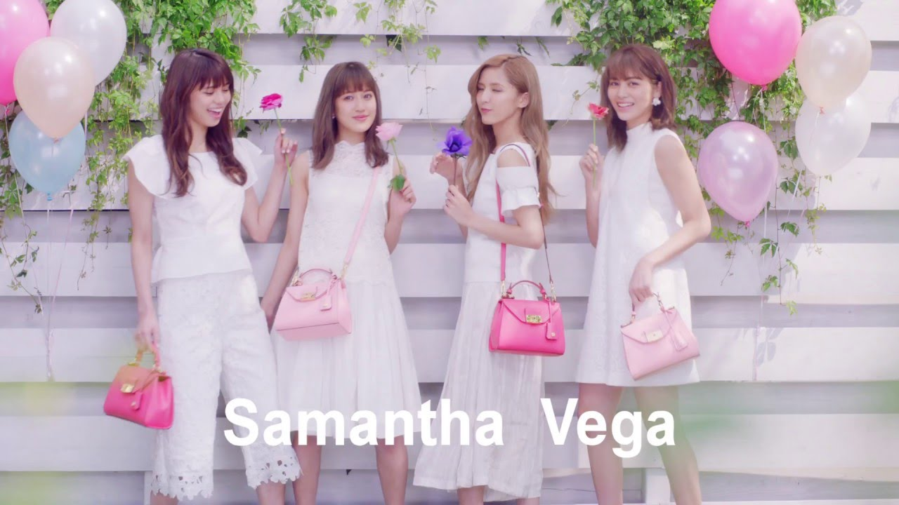 Samantha Vega サマンサベガ Meets E Girls ガーデン編 Youtube