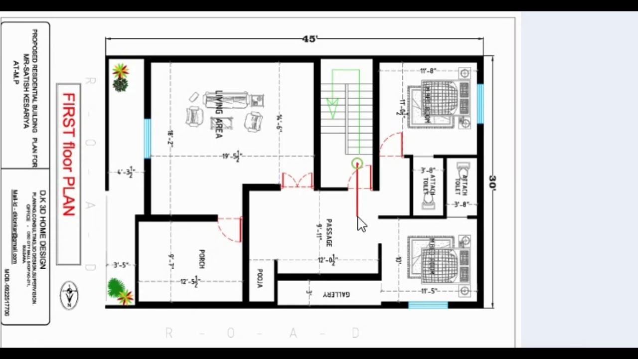 30x45 2 story best house plan - YouTube on 26 x 50 house plans, 40 x 60 house plans, 36 x 36 house plans, 40 x 70 house plans, 40 x 80 house plans, 20 x 50 house plans, 16 x 20 house plans, 20 x 40 house plans, 24 x 36 house plans, 28 x 50 house plans, 10 x 20 house plans, 24 x 50 house plans, 15 x 15 house plans,
