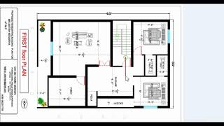 30x45 2 story best house plan