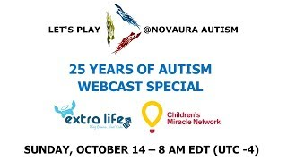 25 Years Of Autism Donation and Game Schedule Announcements