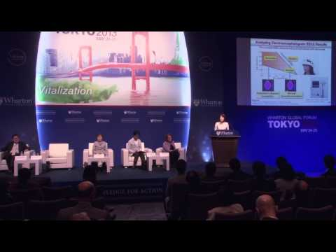 Wharton Global Forum Tokyo 2013 - Panel: Aging in the World Environment