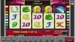 Lucky Ladys Charm Slot - Jackpot on the Free Spin Bonus