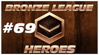 BRONZE LEAGUE HEROES   Episode 69   HUE HUE HUE   Zork vs blizzaga