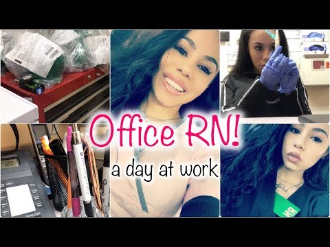 OFFICE RN | COME TO WORK WITH ME! 8HR SHIFT