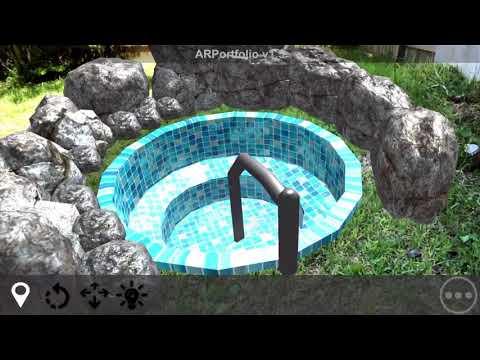 AR Portfolio Use Case #3: Swimming Pool Sales