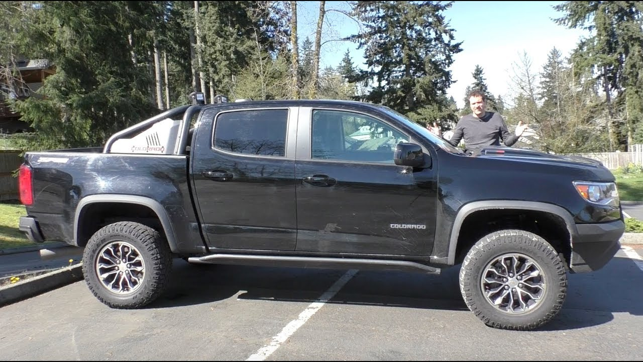 Here's Why The Chevy Colorado ZR2 Is the Coolest Midsize Truck