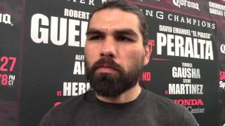 ALFREDO ANGULO - 'I FEEL BETTER THAN EVER. IVE GOT NO WEIGHT STRUGGLES. 'PERRO' IS RARING TO GO!!'