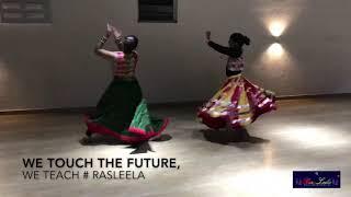 Gambar cover Garba steps for kids | rasleela | Hardik Mehta | falguni pathak