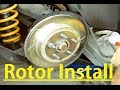 Holden VE Commodore - Installing Aftermarket Slotted Rotors/Disk Brake
