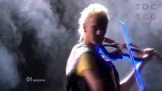 Moldova - EPIC VIOLIN GUY - Eurovision Song Contest 2010