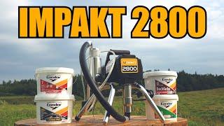 Обзор окрасочного аппарата IMPAKT 2800