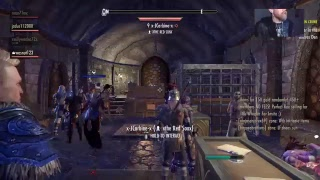 Eso online gameplay trying to get loot come chill!!!! Picture quality not that good