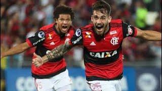 Todos os gols de Flamengo 5x0 Palestino filmados da arquibancada!