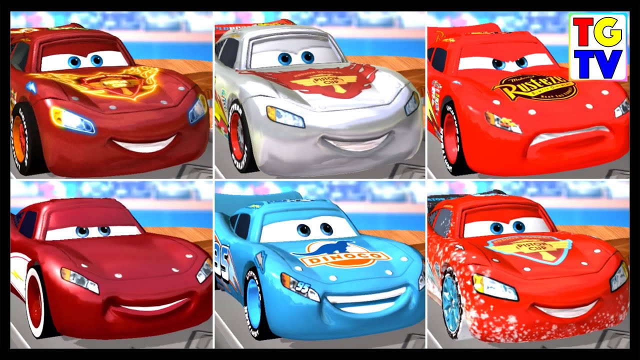 Disney Pixar Cars Lightning Mcqueen Cars Daredevil