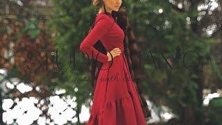 Платье с шлейфом от STUDIO MANIQ
