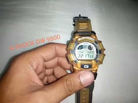 Review Casio G-Shock Dw 9500 Extreme Jelly