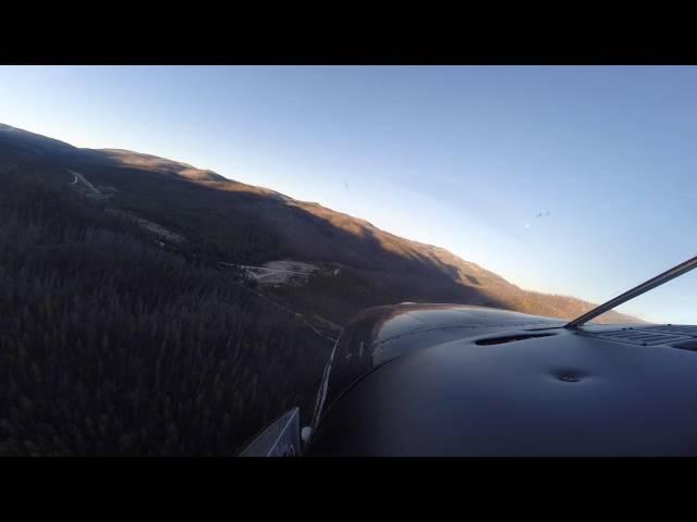 Landing @ Warren, Idaho (3U1)