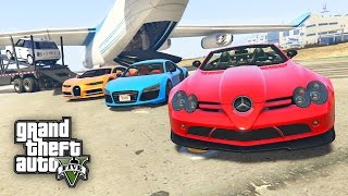 WIR KLAUEN LUXUS AUTOS ! - GTA 5 REAL LIFE CARS