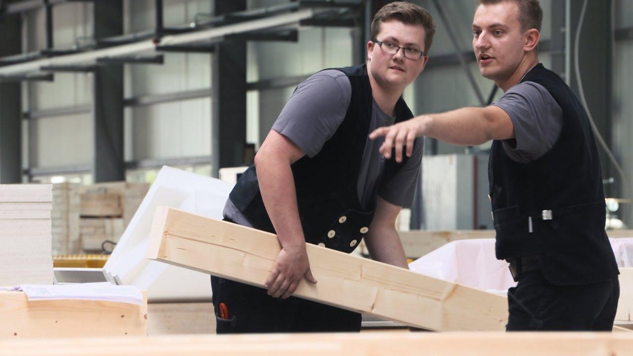 Zimmerer: Ausbildung bei der DFH Deutsche Fertighaus Holding AG ...