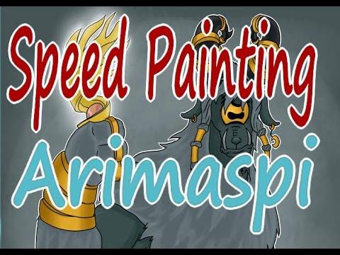 Arimaspi Mlp Speedpainting Youtube