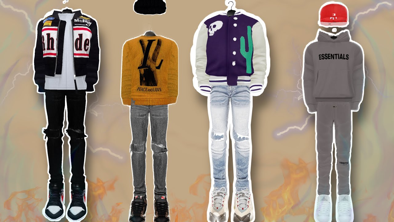 Drippy Male Outfit Ideas|IMVU