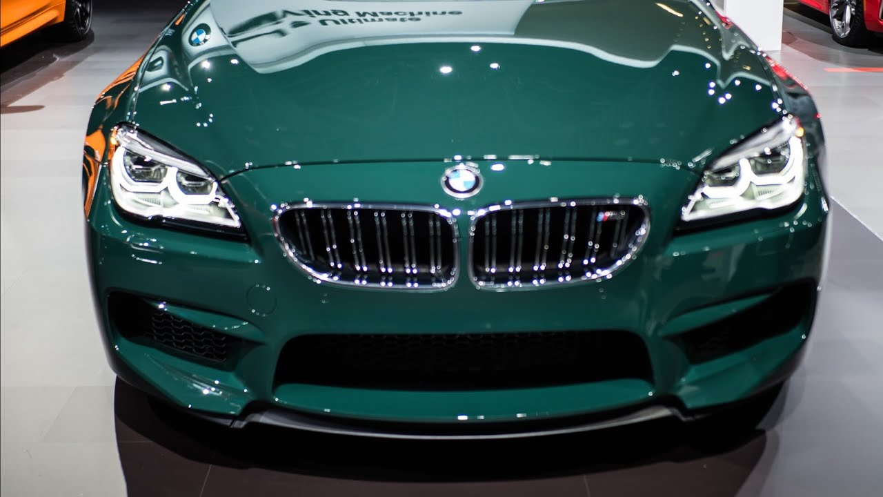2019 BMW M6 Grane Cope Military Green Launched At 2018
