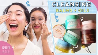 💦 Cleansing Balms vs Oils + Which One Works BEST?! 💦 | Cleansing 101