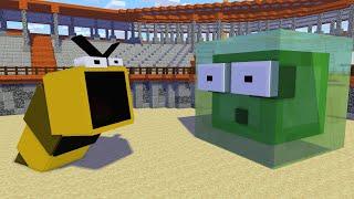 Monster School : DEATH WORM CHALLENGE - Minecraft Animation