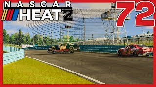 THAT'S ON YOU ALLGAIER! |20/33| NASCAR Heat 2 Career Mode S3. Episode 72
