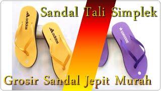 Sandal Tali Simplek BJG Terbaru Langsung Dari Grosir Sandal Jepit Murah