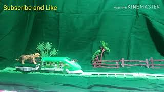 Toy Train animals for kids