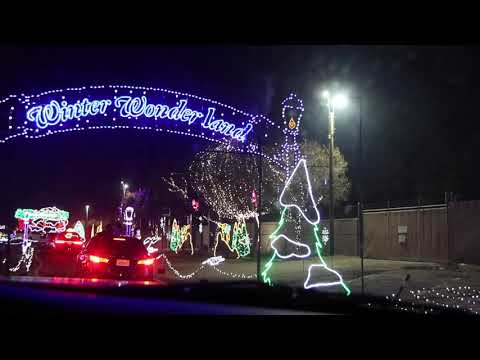 CALM Holiday Lights 2020 Drive Thru