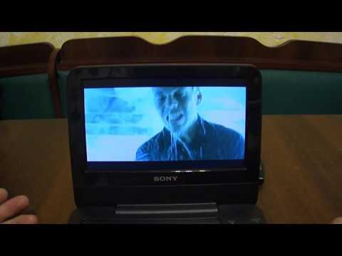 Портативный ДВД плеер Sony DVP FX720