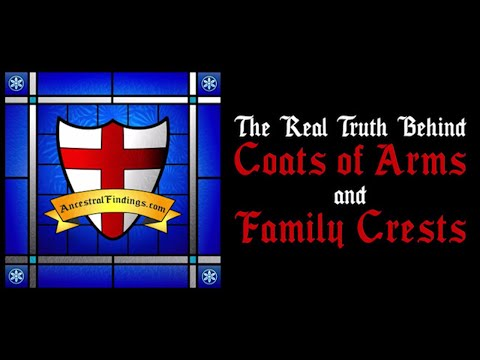 AF-022: The Real Truth Behind Coats of Arms and Family Crests