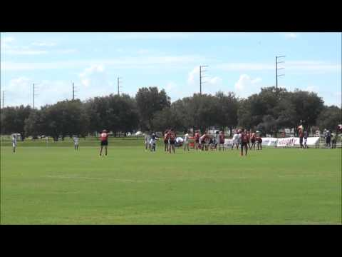 USA South Red vs Cayman Island NACRA U19s 2015