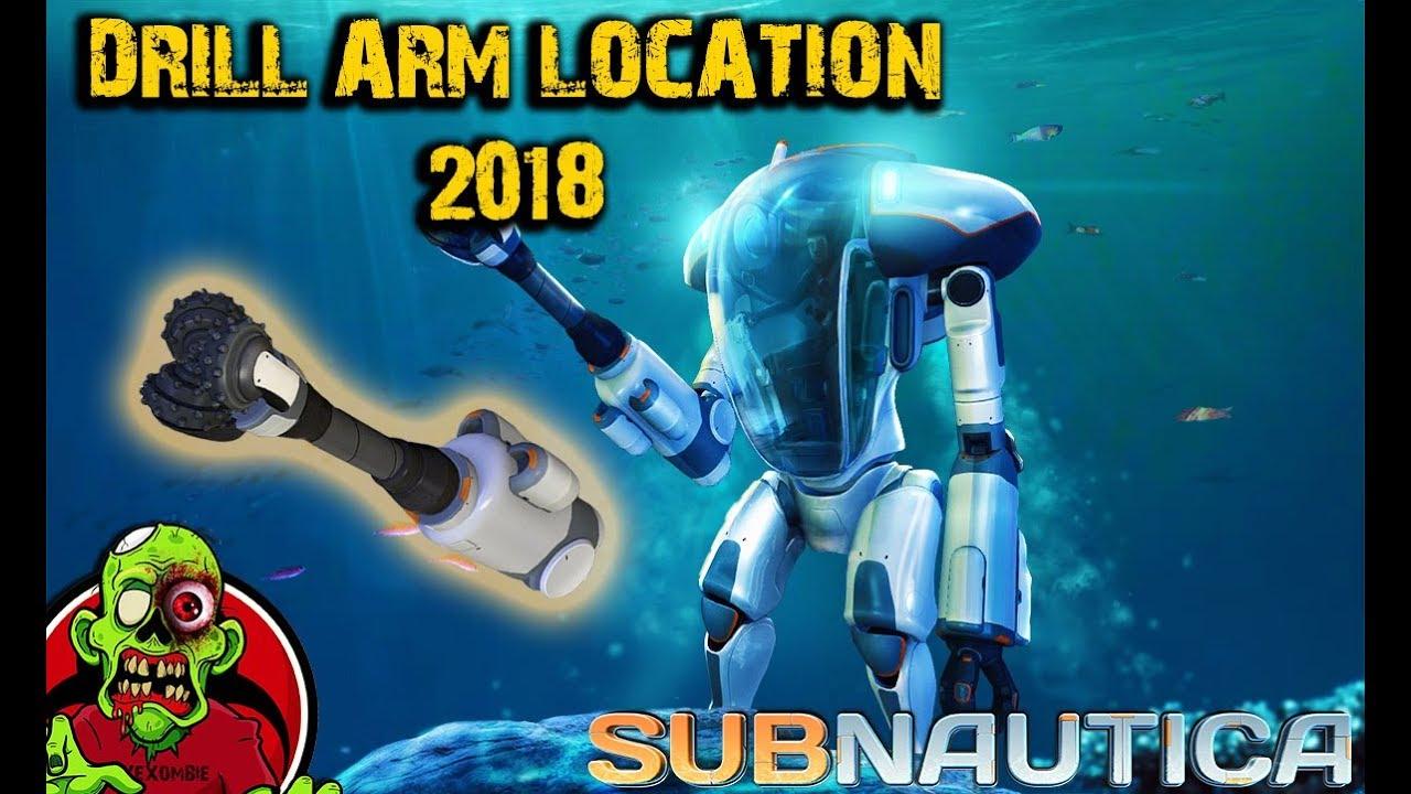 Prawn Suit Drill Arm Location Subnautica 2018 Youtube