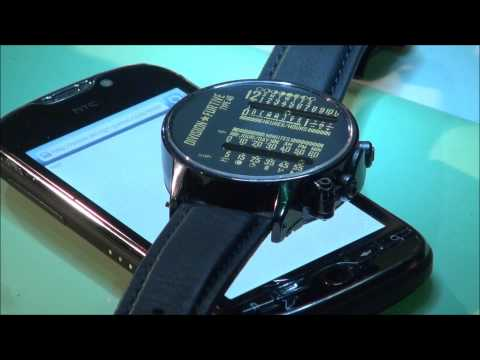 Division Furtive Type 46 Watch - Time Set Using Smartphone