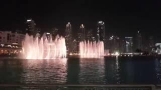 Burj Khalifa Fountains June 2016