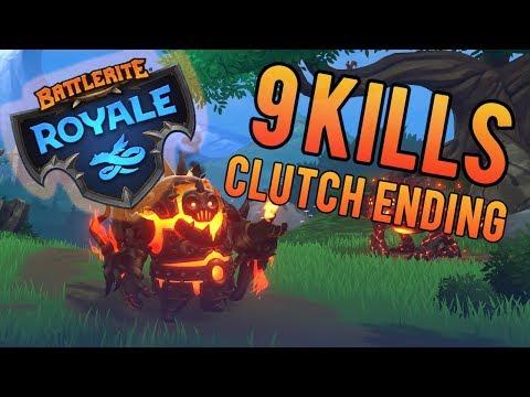 Battlerite Royale - Ashka 9 KILLS + GAMEPLAY TIPS/TRICKS